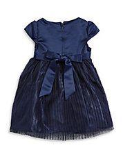 Jewel Neck A-Line Dress