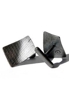 Mancuernillas Cubiertas  plata.925  Diseñadora: Brenda Farias  $1,239.00