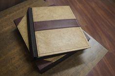 Capas e caixas para álbum no tamanho 24x30 (fabricado em couro italiano) www.bmworks.com.br