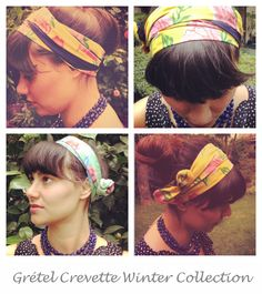 Winter Collection- Hair Bands by Grétel Crevette - #hairdo #updo #style #fashion #girly #hipster Order Now! <3 <3 <3 <3