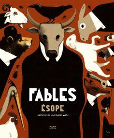 Les fables d'Ésope, illustrations de Jean-François Martin, Éditions Milan (20100) Zippertravel.com Digital Edition