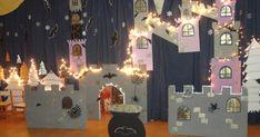 Ένα καταπληκτικό έργο, που βρίσκεται στο προσκήνιο χρόνια, ήταν η φετινή μας επιλογή για τη χριστουγεννιάτικη παράσταση του νηπιαγωγείου μ... Witch Decor, Christmas Crafts, Christmas Plays, Birthday Candles, Back To School, Blog, Felt Boards, Bulletin Boards, Songs