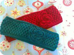 Coffee 'n' crochet: Warm ears and warm tummy.
