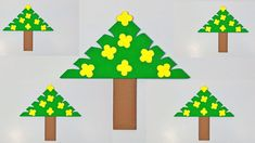 In this video, we'll show you how to make a Christmas tree paper garland/paper - How to Make Simple and Easy Paper Christmas Tree Bookmark. Christmas Tree Garland, Christmas Diy, Paper Craft Making, Make It Simple, Paper Crafts, Holiday Decor, Design, Tissue Paper Crafts, Paper Craft Work