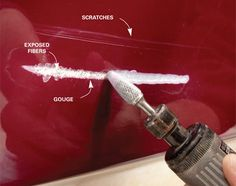 family handyman stuff Fix boats, personal watercraft, even truck toppers with these fiberglass repair tips. Do it yourself and save thousands. Make A Boat, Diy Boat, How To Fiberglass, Fiberglass Resin, Sailboat Restoration, Truck Toppers, Boating Tips, Boating Fun, Chris Craft Boats