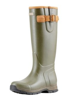 af6bad7b0e05 Ariat Women's Burford Insulated Wellies - Aw16 - Olive Green Horse Riding  Boots, Olive Green