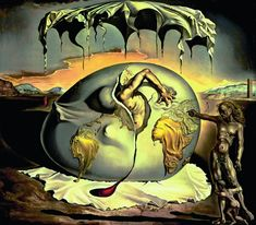 'Geopoliticus child watching the birth of the new man' (1943). De las aproximadamente 200 piezas de la muestra, una treintena pueden verse por vez primera. Fundación Gala-Salvador Dalí, Vegap