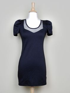 Black Zip Up Back Dress - $38.00 : FashionCupcake, Designer Clothing, Accessories, and Gifts