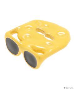 Cheese Glasses charm