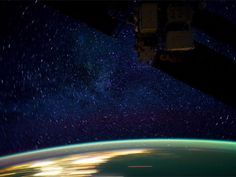 Using high-definition NASA footage, a filmmaker has compiled a film made from timelapsed snippets of Earth as seen from the ISS.
