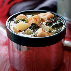 Dijon Chicken Stew with Potatoes and Kale   Cookinglight.com