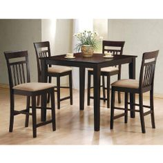 Bar Height Square Table With