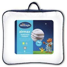 Silentnight Airmax Matratzenauflage - Kingsize-bett 150 x 150 x 200 cm Memory Foam Mattress Topper, Best Mattress, Argos, Lunch Box, Ebay, Cool Stuff, Bedding, Latex Mattress, Shopping
