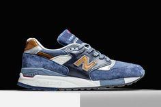 New Balance 998-Camel Blue