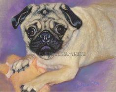 Can I take him home? Pug Original Art  Pug Lover  Pug Decor Pug Gift by ArtByJulene #integritytt