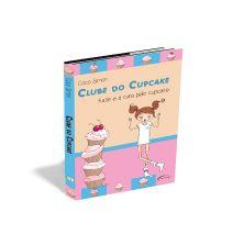 Desenvolvi a arte deste infantil - Clube do cupcake - é a história de quatro amigas, dentro do colégio, e cada uma delas retratada em um livro. Desenvolvi uma identidade visual para a coleção, usando cores pastéis e vetores, de meninas, de cupcake, fazendo assim, uma capa divertida e chamativa.