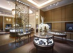 Dhamani 1969 jewelry boutique by Callison, Dubai – U.A.E. » Retail Design Blog