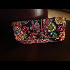 Vera Bradley Multicolor Clutch HandBag Multicolor clutch with inside pocket, cute and unique handbag will match with any outfit in your closet. Vera Bradley Bags