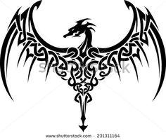 tribal wing tattoo - Google Search