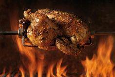 #powerpatate #gratitude Ah... un bon poulet roti à la broche !...