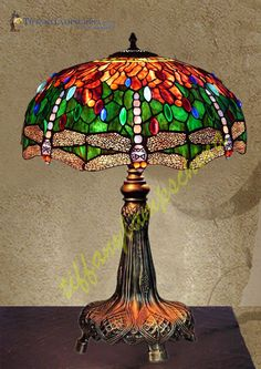 Tiffany Lamps | ... Tiffany_Lamp-S22KK2 - Sculpture Lamps - Manufacturer of Modern Tiffany