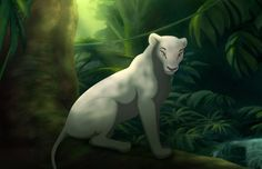 Started this early this morning and I just got it done now XD Ma Di Tau is just chillin in her jungle home Jesus christ ; . ; The background was an absolute nightmare to do! XDD But anyway you guys...