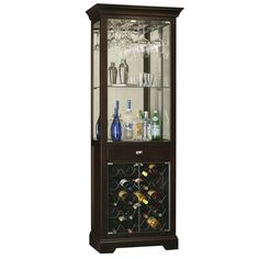 Howard Miller Gimlet Wine and Bar Cabinet  sc 1 st  Pinterest : home bar cabinet - Cheerinfomania.Com