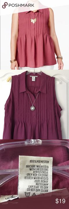 American Rag tank tunic American Rag tank tunic.  Worn twice. The color is like the real pictures. American Rag Tops Blouses