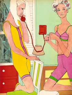 Antonio Lopez illustration 1970s
