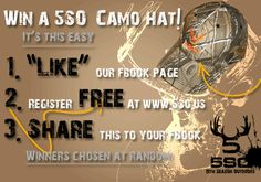 Win 5SO gear on 5th Season Outdoors fbook page every week!