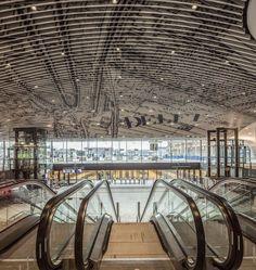 Nowy dworzec kolejowy, Delft, 2015 - Mecanoo Architecten