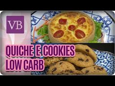 Quiche e Cookies Low Carb - Você Bonita (22/11/16) - YouTube
