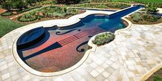 What You Need to Know About Pool Coping and Pavers Pool Coping, Rock Fountain, Outdoor Pool, Light Colors, Natural Stones, Architecture Design, Swimming Pools, Backyard, Exterior
