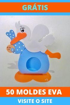 Unisex Baby Shower, Baby Boy Shower, Foam Crafts, Diy Crafts, Baby Shawer, Baby Decor, Easter Crafts, Quilling, Origami