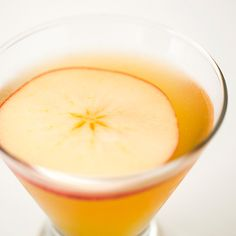 Apple cider + brandy + Cointreau + lemon juice = Apple Cide-car Cocktail!