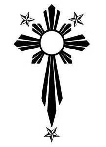 filipino tribal tattoos and meanings Filipino Tribal Tattoos, Tribal Arm Tattoos, Asian Tattoos, Cross Tattoos, Calf Tattoos, Traditional Filipino Tattoo, Filipino Art, Filipino Empanada, Polynesian Tattoo Designs