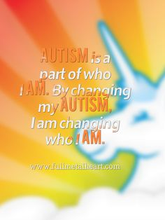 Autism is a part of
