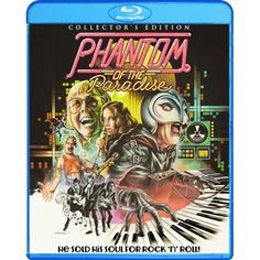 PHANTOM OF THE PARADISE (Blu-ray) 2014
