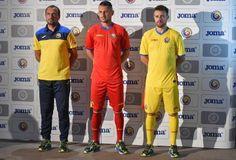 Romania 2015/16 Joma Home and Away Kits