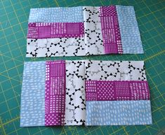 Quilting Ideas rail fence quilt block tutorial - Turn jelly rolls, fat quarters or spare yardage into a traditional rail fence quilt block. Plus, it only requires five passes at the sewing machine. Jelly Roll Quilt Patterns, Beginner Quilt Patterns, Baby Quilt Patterns, Quilting For Beginners, Quilting Tutorials, Quilting Patterns, Quilting Projects, Patchwork Patterns, Strip Quilts