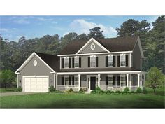 Home Plan HOMEPW77519 is a gorgeous 2148 sq ft, 2 story, 4 bedroom, 2 bathroom plan influenced by + Farmhouse style architecture.