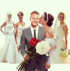 #Sean #Lowe from #ABC's the #Bachelor with his NEAT Method girls #truelove