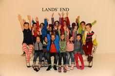 Die Lands' End Kids-Modenschau 2014 in Hamburg! Es geht los!