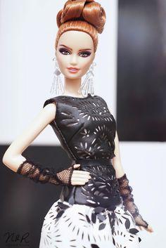 Laser Leatherette Dress Barbie