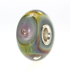 """Look at this Deep Bubbles!  When a bead is different at all we list it on our """"With a Twist"""" category.  Click:http://www.trollbeadsgallery.com/deep-bubbles-retired-with-a-twist-18/"""