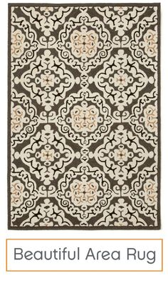 So rich and  sophisticated and intricately detailed, you'd think this area rug would require pampering. Far from it! Crafted for indoor or outdoor use, this stunning rug can handle even the heaviest of foot traffic while maintaining its beauty.