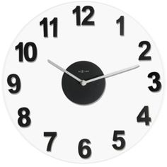 Control Brand The Woody Clock Black/clear By ($141) ❤ liked on Polyvore featuring home, home decor, wall shelves & ledges, minimalist home decor, minimal home decor, black wall shelf, black home accessories and black home decor