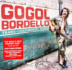 New Gogol Bordello album 'Seekers and Finders' released August Eugene Hutz, Gypsy Punk, Cool Album Covers, Pochette Album, In Another Life, Music Artwork, Music Library, Types Of Music, Cabaret