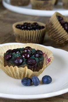 Paleo Blueberry Muffins (Gluten Free Grain Free) - Gluten-Free on a Shoestring