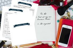 Being organized is a key to success. No more lost ideas. No more lost connections. No more lost sales. Printable Business Planner in ENGLISH, SPANISH and FRENCH.  Printable Business Planner keeps you on track and monitors your success. You can't afford not to have a Planner. Many of these sheets can be used for your personal life as well. http://www.financiallywiseonheels.com/printable-business-planner/